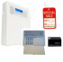 Centrale filo/radio S64 con combinatore GSM e batteria