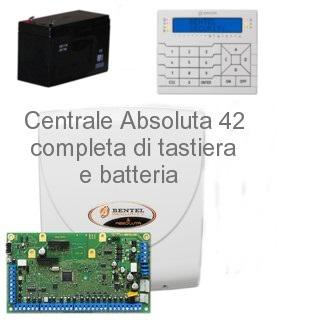 Centrale completa bentel absoluta42 con tastiera premium for Bentel absoluta 42 prezzo